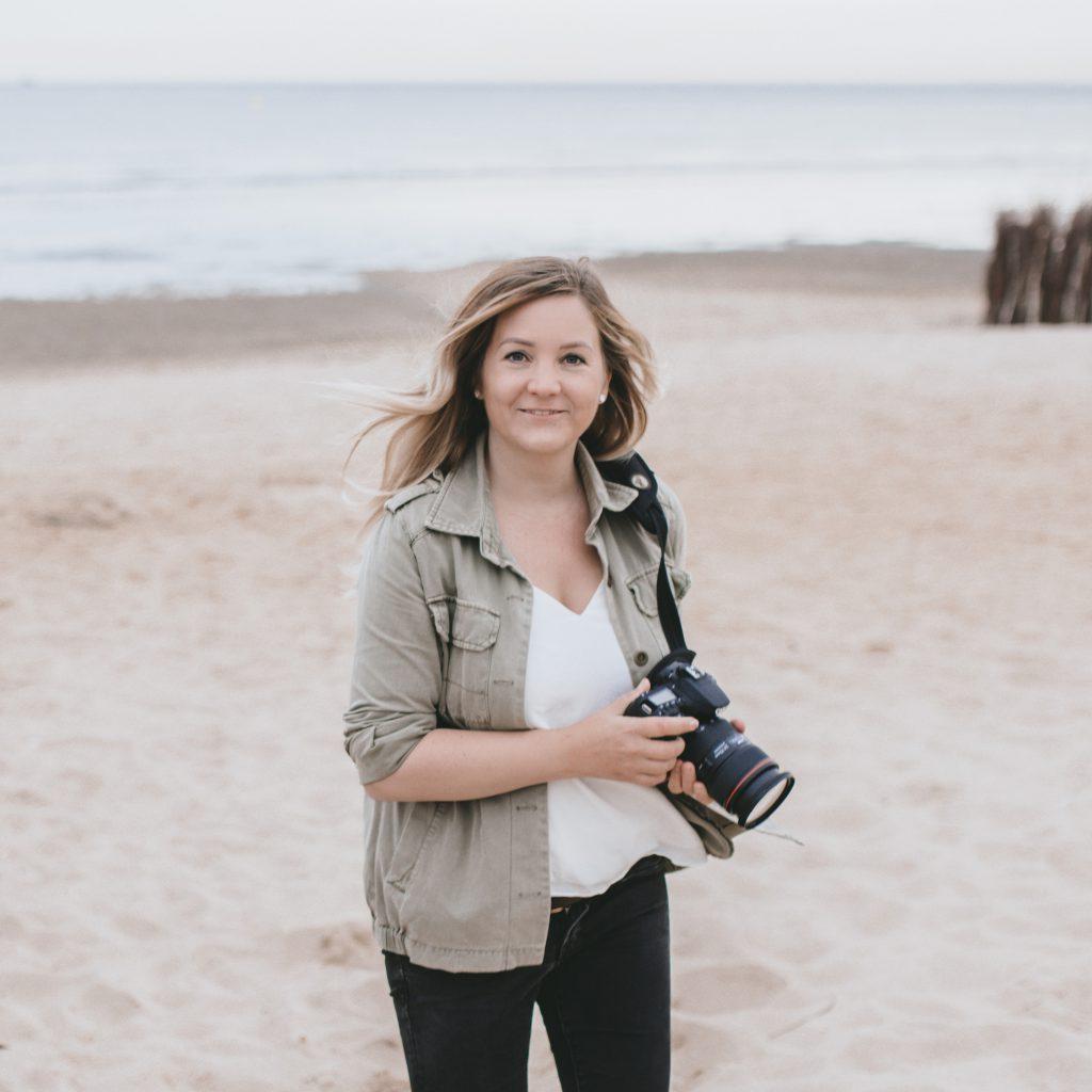 Nina am Strand Cuxhaven